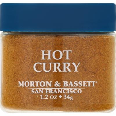 Morton & Bassett Spices Curry, Hot