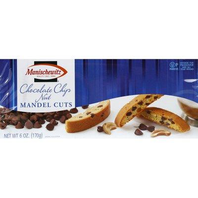 Manischewitz Mandel Cuts, Chocolate Chip Nut