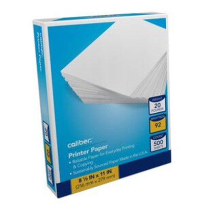 Georgia-Pacific Paper, Multipurpose, Standard, 92 Bright, 20 lb
