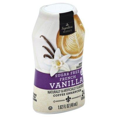 Signature Select French Vanilla Flavored Sugar-free Coffee Enhancer