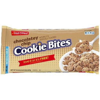 Malt-O-Meal Chocolatey Chip Cookie Bites