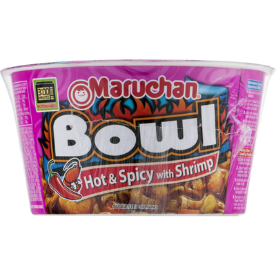 Maruchan Ramen Noodles, with Vegetables, Hot & Spicy with Shrimp