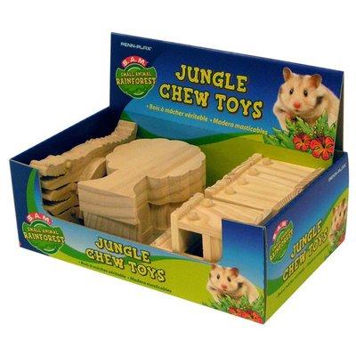 Penn-Plax Small Animal Rainforest Jungle Chews Toys