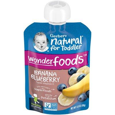 Gerber Banana Blueberry Toddler Food