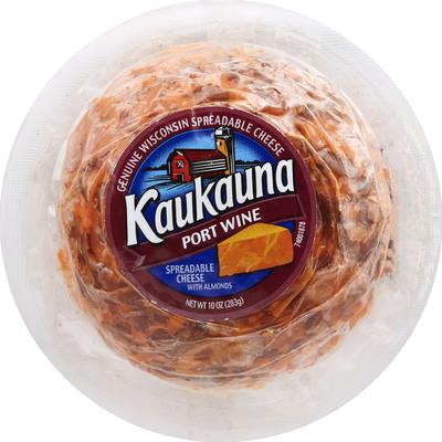 Kaukauna Port Wine Spreadable Cheeseball