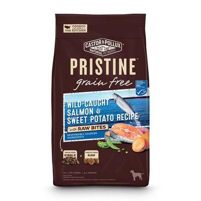 Castor & Pollux Grain Free Wild-caught Salmon & Sweet Potato Recipe With Raw Bites Dog Food