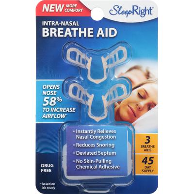 SleepRight Breathe Aid, Intra-Nasal
