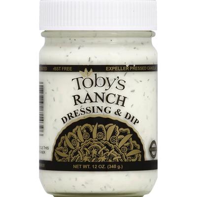 Tobys Dressing & Dip, Ranch