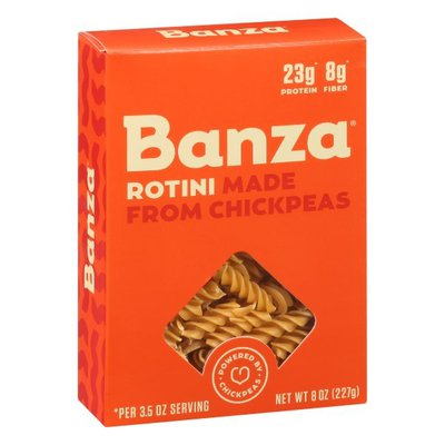 Banza Rotini, Made from Chickpeas