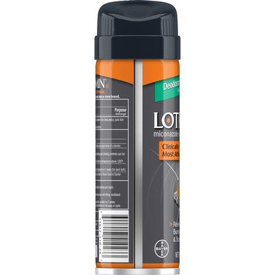 Lotrimin Antifungal, Deodorant Powder Spray