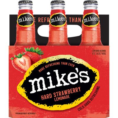 Mike's Hard Lemonade Strawberry Lemonade - 6 PK