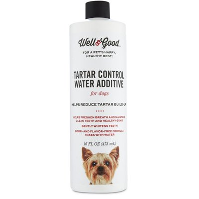 Well & Good Tartar Control Water Additive For Dogs