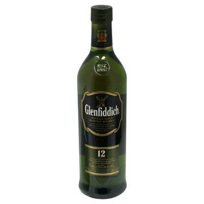 Glenfiddich 12 YR Single Malt Scotch Whisky