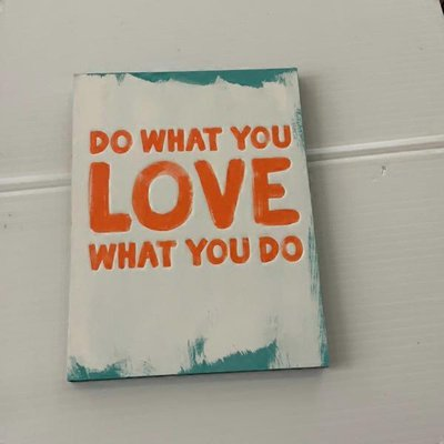 Compendium Do What You Love What You Do Hardcover Book