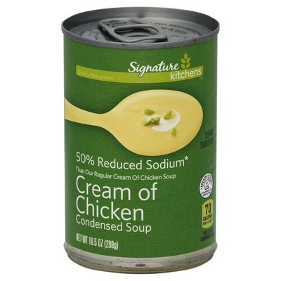 Signature Kitchens Cream Of Chicken Reduced Sodium Condensed Soup