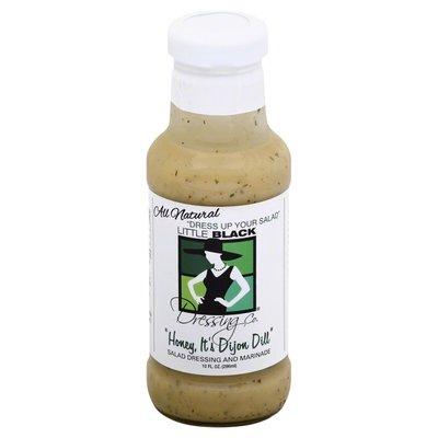 Little Black Dressing Salad Dressing and Marinade, Honey, It's Dijon Dill