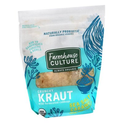 Farmhouse Culture Kraut, Crunchy, Sea Salt Caraway