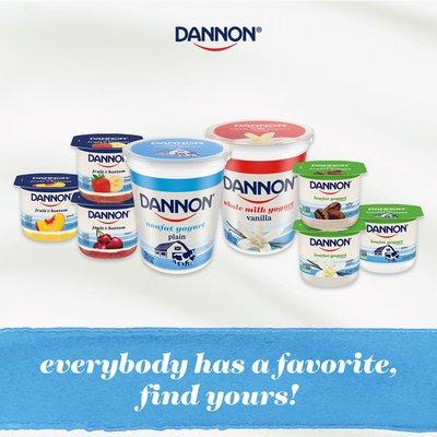 Dannon Cherry Yogurt
