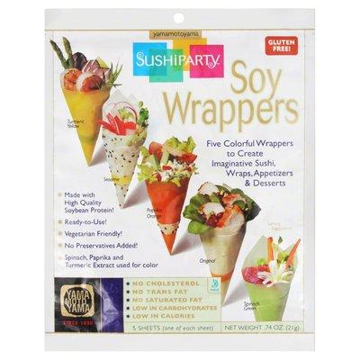 Yamamotoyama Soy Wrappers, Sushiparty, Box