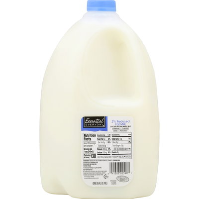 Essential Everyday Milk, Reduced Fat, 2% Milkfat