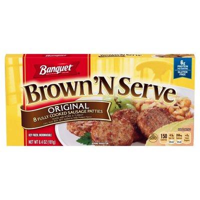 Banquet Brown N Serve Original Patty