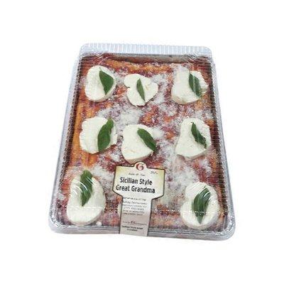 Sicilian Style Great Grandma Pizza
