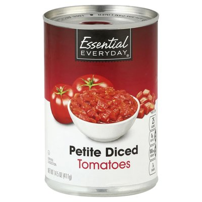Essential Everyday Tomatoes, Petite, Diced