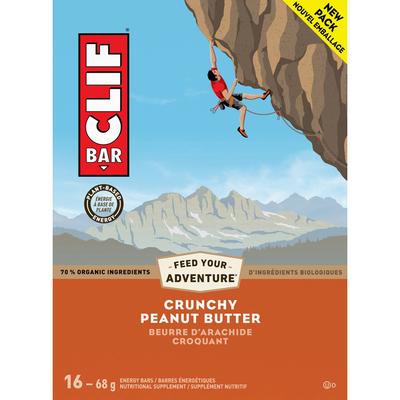 CLIF BAR Energy Bars, Crunchy Peanut Butter