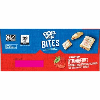 Kellogg's Pop-Tarts Baked Pastry Bites, Kids Snacks, Frosted Strawberry