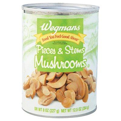 Wegmans Food You Feel Good About Pieces & Stems Mushrooms