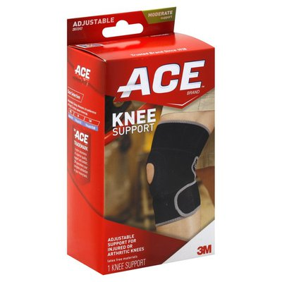 Ace Knee Support, Adjustable, Moderate Support