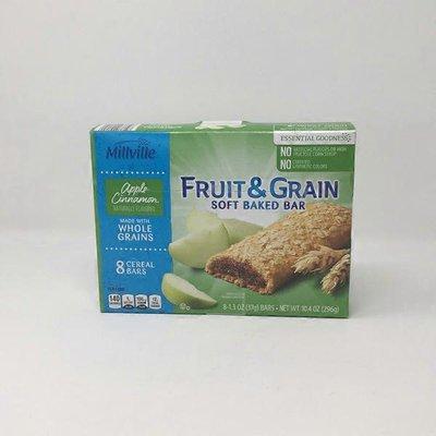 Millville Apple Cinnamon Fruit & Grain Cereal Bars