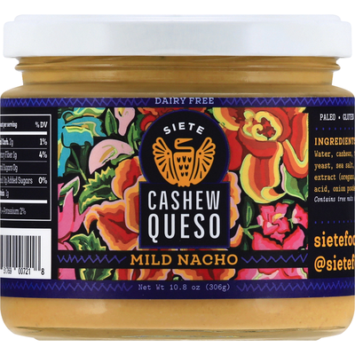 Siete Cashew Queso, Dairy Free, Mild Nacho