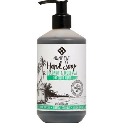 Alaffia Hand Soap, Coconut Mint