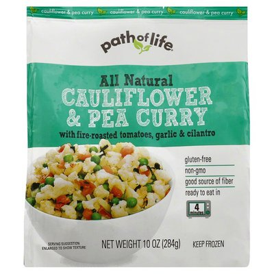 Path of Life Cauliflower & Pea Curry