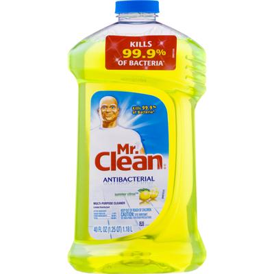 Mr. Clean Antibacterial Multi-Surface Cleaner, Summer Citrus