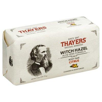 Thayers Body Bar, Witch Hazel, Citrus