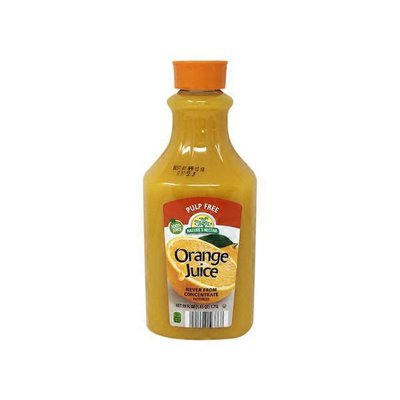 Nature's Nectar Premium Orange Juice Not from Concentrate No Pulp