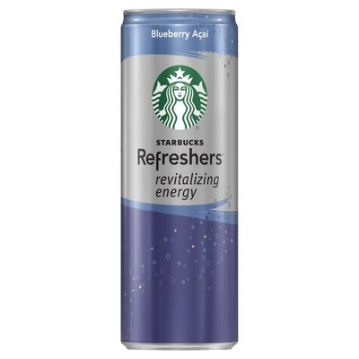 Starbucks Refreshers Revitalizing Energy Blueberry Acai