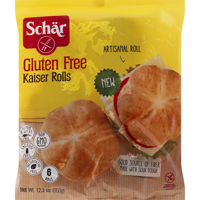 Dr. Schar Kaiser Rolls, Gluten Free