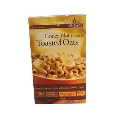 Signature Kitchens Honey Nut Flavored Toasted Oats Cereal