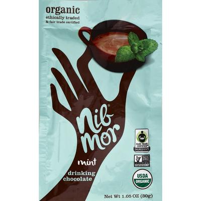 Nib Mor Organic Drinking Chocolate Mint