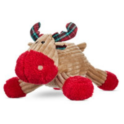 """Petco Holiday Large Corduroy Reindeer Dog Toy 18"""" L X 14"""" W X 6"""" H"""