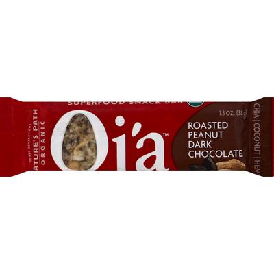 Nature's Path Snack Bar, Superfood, Roasted Peanut Dark Chocolate