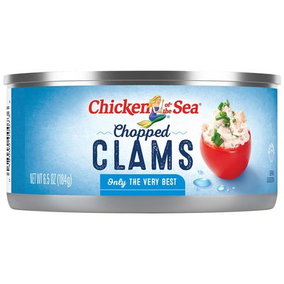 Chicken of the Sea Chopped Clams