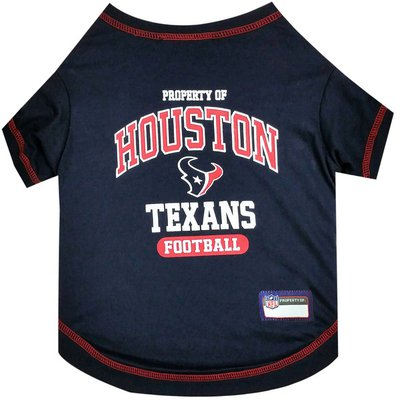 Pets First Small Houston Texans Pet T-Shirt