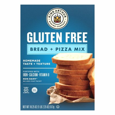 King Arthur Baking Gluten Free Bread & Pizza Mix