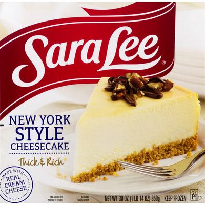 Sara Lee Cheesecake, New York Style