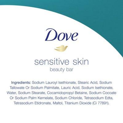 Dove Moisturizing Beauty Bar Sensitive Skin