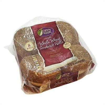 Open Nature Whole Wheat Sandwich Buns